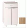 Aqualine Zoja /Keramia Fresh alsó szekrény fiókka, Platina tölgy 50315
