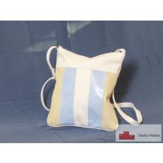 180 fehér világoskék beige átvetős női táska