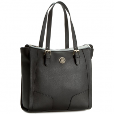 Tommy Hilfiger Táska TOMMY HILFIGER - Miss Tommy Tote AW0AW03429 002