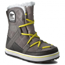 SOREL Hótaposó SOREL - Glacy Explorer Shortie NL 2079-052 Quarry