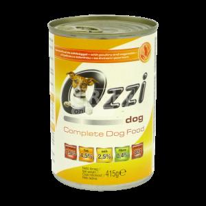 Ozzi Dog kutyaeledel konzerv 415 g csirkehússal