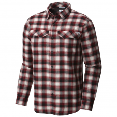Columbia Silver Ridge Flannel Long Sleeve Shirt Ing D (1681631-p_611-Red Element)