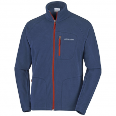 Columbia Fast Trek II Full Zip Fleece Polár,softshell D (1420421-p_456-Collegiate Navy)