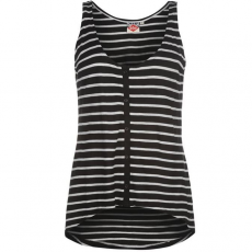 Lee Cooper Button Stripe női trikó