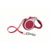 Flexi Vario szalagos póráz XS, 3m, piros