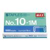 MAX Tűzőkapocs 10-1 (1000db/doboz)