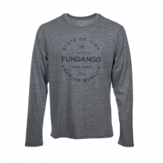 Fundango Longsleeve T T-shirt D (1TP105_745-grey heather)