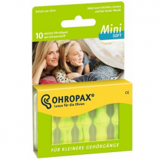Ohropax Mini Soft füldugó, 10 db