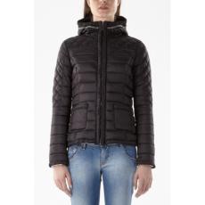 GAS 0200 GLAMY HOOD (Fekete) Női Kabát