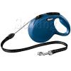 Flexi Classic zsinóros póráz S, 5m, kék