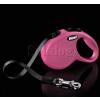Flexi Classic szalagos póráz M-L, 5m, pink