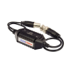 EuroVideo EVA-GB430C Nagy csillapítású videojel földhurok leválasztó, beépített video balun, BNC+15cm koax/BNC +15cm koax