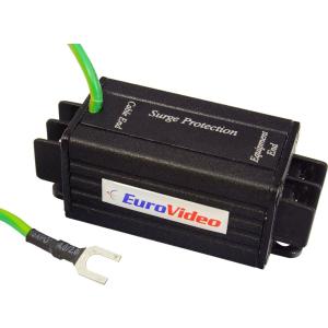 EuroVideo EVA-SP001P Eurovideo túlfeszültség és villámvédő tápfeszültség vezetékre MAX.55Vdc/40Vac