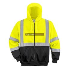 Portwest B315 Hi-Vis kapucnis pulóver
