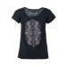 Fundango Tara Logo 33 T-shirt,top D (2TP10133_891-black heather)