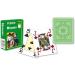 Modiano 4 sarok 100% műanyag kártya - Világoszöld
