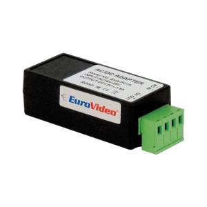EuroVideo EVA-PC1A FESZÜLTSÉG STABILIZÁTOR ÁTALAKÍTÓ MAX 1,5 A, BE: 16-28 VAC, KI: STAB.12 VDC