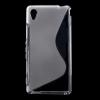 Sony Xperia M4 Aqua Tok Szilikon S-Line Style Áttetsző