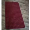 Bordó kockás szegett szőnyegTR 50x100cm/0016/Cikksz:05200755