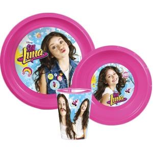 Soy Luna Disney Soy Luna étkészlet, műanyag szett