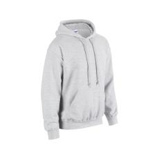 GILDAN bélelt kapucnis pulóver, ash