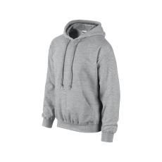 GILDAN bélelt kapucnis pulóver, sportszürke