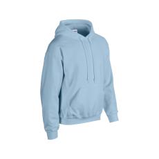 GILDAN bélelt kapucnis pulóver, világoskék