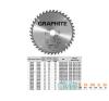 KÖRFŰRÉSZLAP GRAPHITE 57H648 165X30 Z 18 fűrészlap