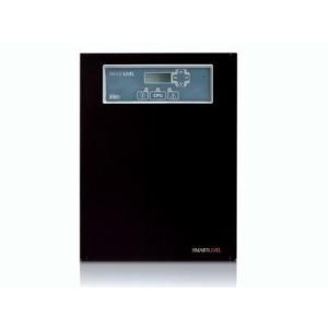 INIM Kapcsolóüzemű tápállomás; 230 V AC / 27,6 V DC; max. 160 W: 4 A terhelés és 1,2 A akkutöltő; RS485