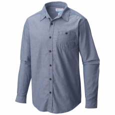 Columbia Boulder Ridge Long Sleeve Shirt Ing D (1681742-p_548-Night Tide)
