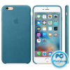 Apple iPhone 6s Leather case Marine Blue