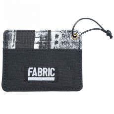 Fabric Graffiti Card Holder