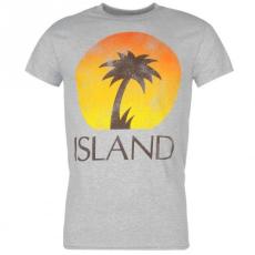 Official Island Records póló férfi