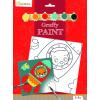Avenue Mandarine Festővászon előre rajzolt mintával - Űrhajós mackó