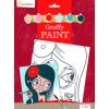 Avenue Mandarine Festővászon előre rajzolt mintával - Bohém