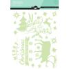 Maildor Stickino karácsony ablakmatricák - Boldog karácsonyt!