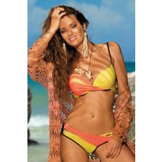 marko Bikini Christina Nero-Coralmania-Primula M-348 sárga-narancs