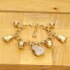 Love Eternal Jewelry Co.,LTD Aranyozott szíves karkötő