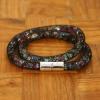 Yiwu Chanfar Jewelry Factory Duplasoros, mágneses, hálós kristály karkötő - többszínű kristályok
