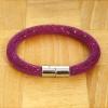 Yiwu Chanfar Jewelry Factory Egysoros hálós kristály karkötő - fukszia
