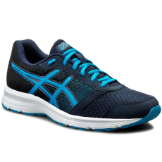 Asics Félcipő ASICS - Patriot 8 T619N Dark Navy/Blue Jewel/Black