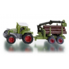 Siku series 16 tractor with forest  trailer 1645