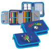Starpak Pencil Case with filling  2 compartments  Football 12/48 348748