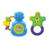 Smily Play Set of glowing and musical rattles K3636
