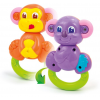 Clementoni Rattle 2in1 monkey-bear C14996