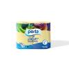 Perla COLOR vajszínű 4x150 lapos, 3 rétegű, illatosított wc papír