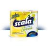 Perla Scala Limone 2x100 lapos, 2 rétegű, citrom illatú dekormintás papírtörlő