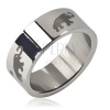 Nemesacél gyűrű - sötét elefánt