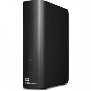 "Western Digital 2TB Elements Desktop 3,5"" Külső HDD USB3.0 Fekete"