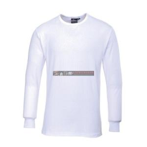 Portwest B123 Hosszú ujjú póló (fehér)